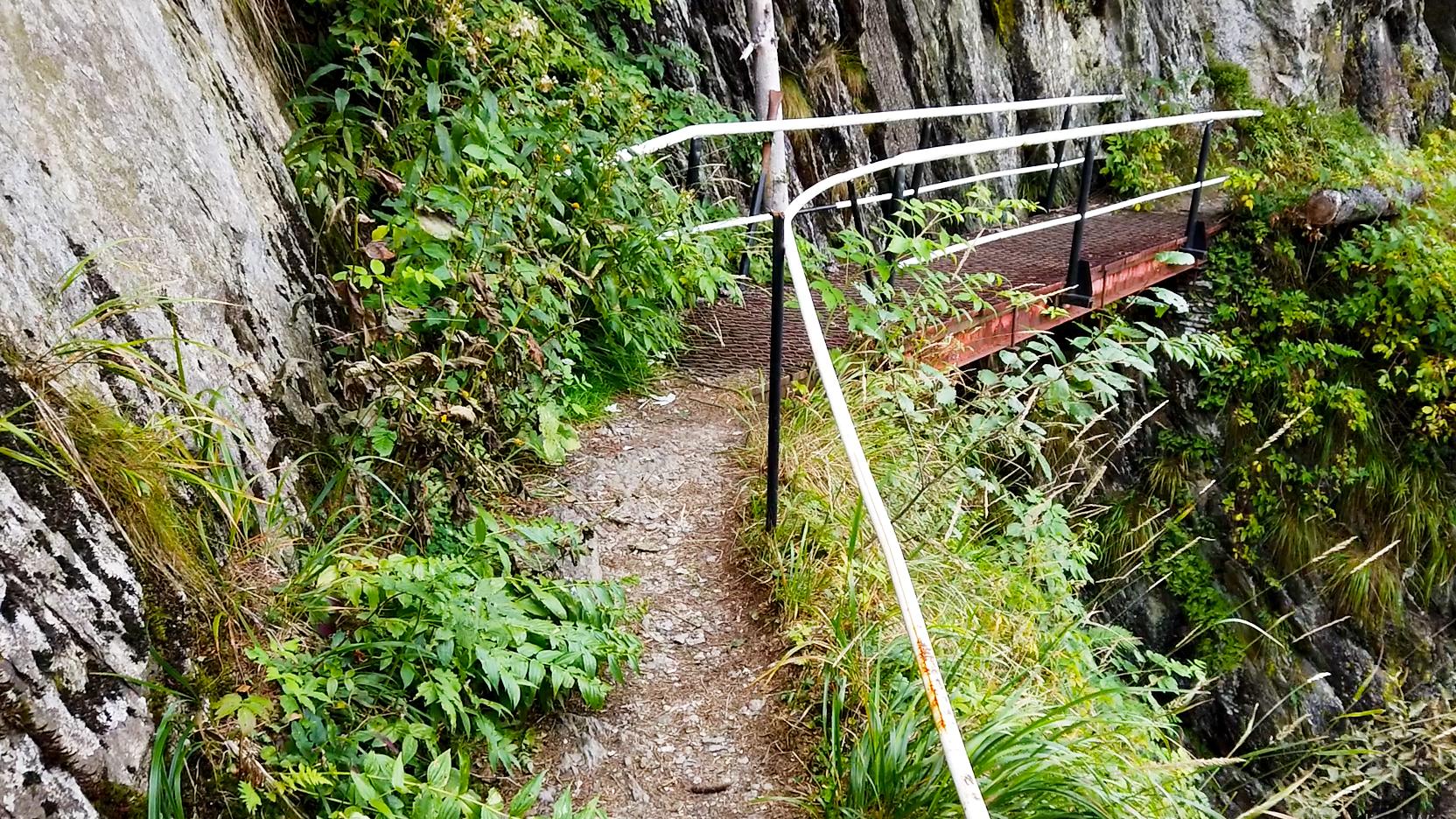 A Sárkányok útjának (Drumul Zmeilor) egyik hídja